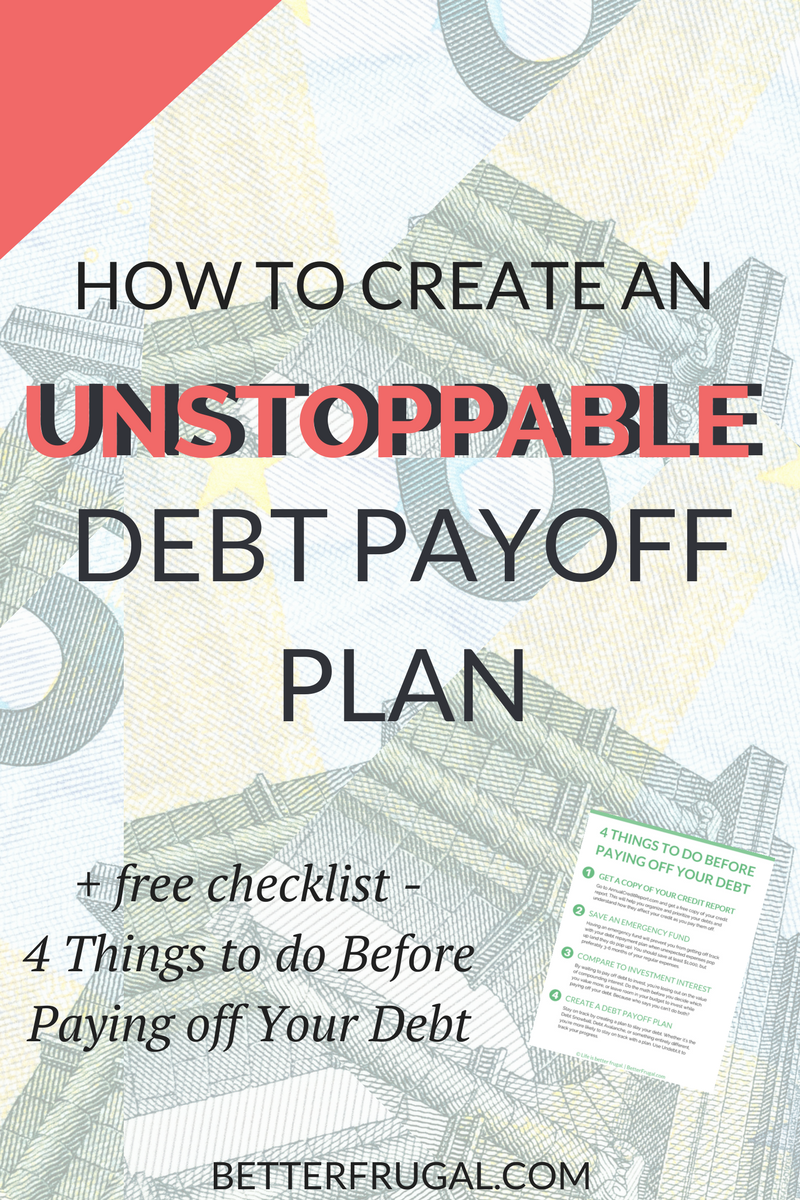 Are you ready to get serious about paying off your debt? Check out this article on the REAL differences between the Debt Snowball and Debt Avalanche methods and how you can create an unstoppable debt payoff plan! (Warning: The numbers may surprise you!) debt snowball | debt avalanche | debt payoff plan | debt payoff | debt free
