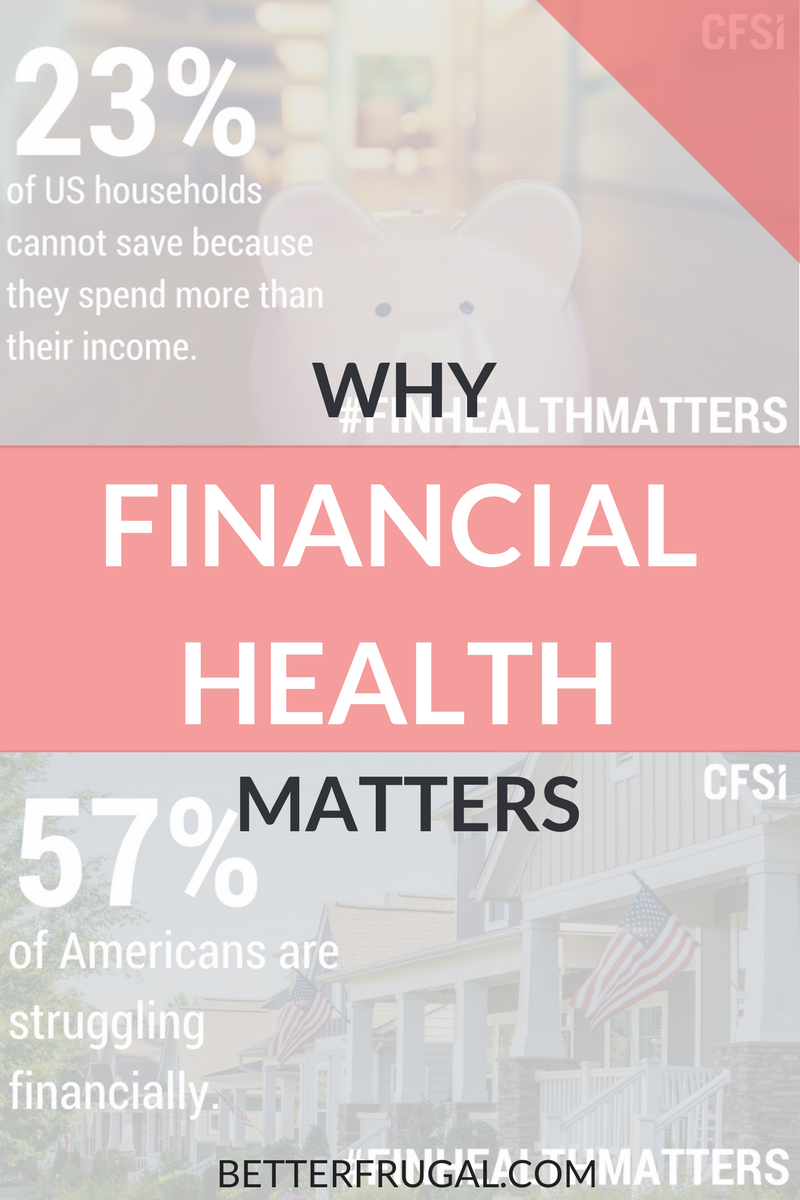 Financial health is about more than owning a home or having a good credit score. It's lifetime journey that involves continuous learning and planning. Click to learn more about financial health and what financial health means to me. financial health | finhealthmatters | money lessons
