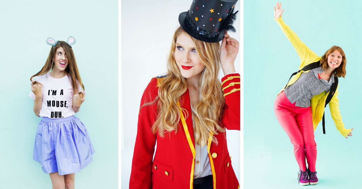 15 cheap and easy diy halloween costumes for women for Easy diy women s halloween costumes